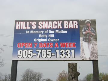 HIll's Snack Bar